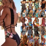 NEW WOMEN ONE-PIECE Bikini Swimsuit Bandage - Acheter Maillot de Bain Femme -44% Réduction